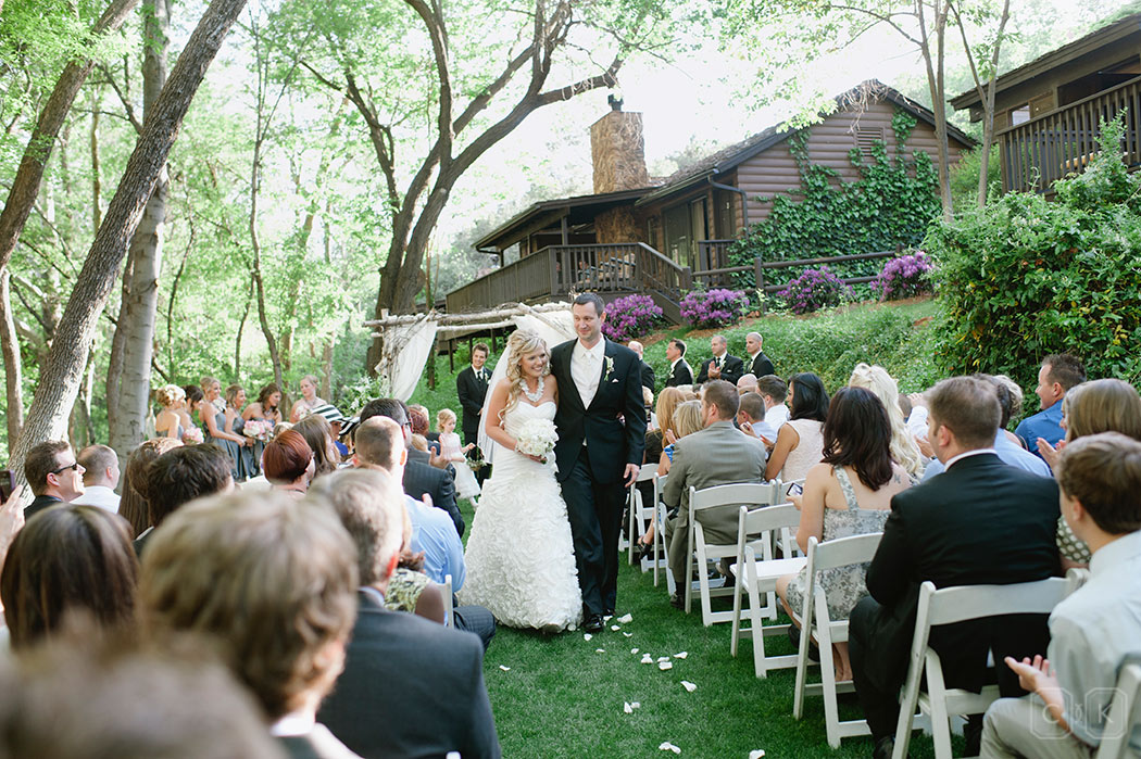 LAuberge de Sedona Wedding on the Cottage Lawn