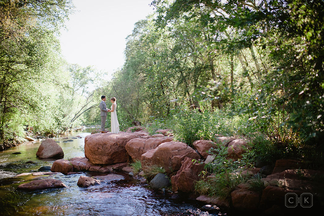 LAuberge de Sedona Wedding at Serenity Point