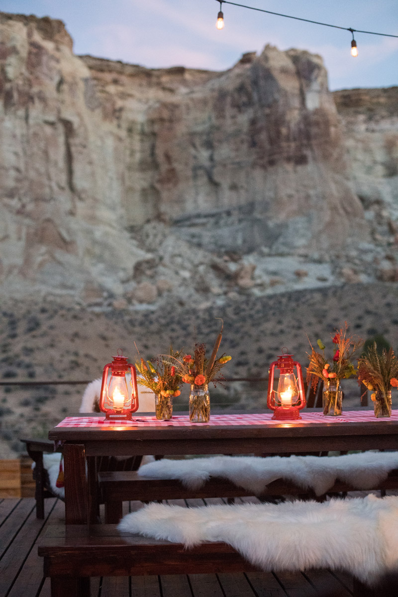 Amangiri Western Welcome party