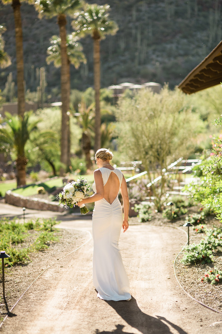 bride at Castle Hot Springs