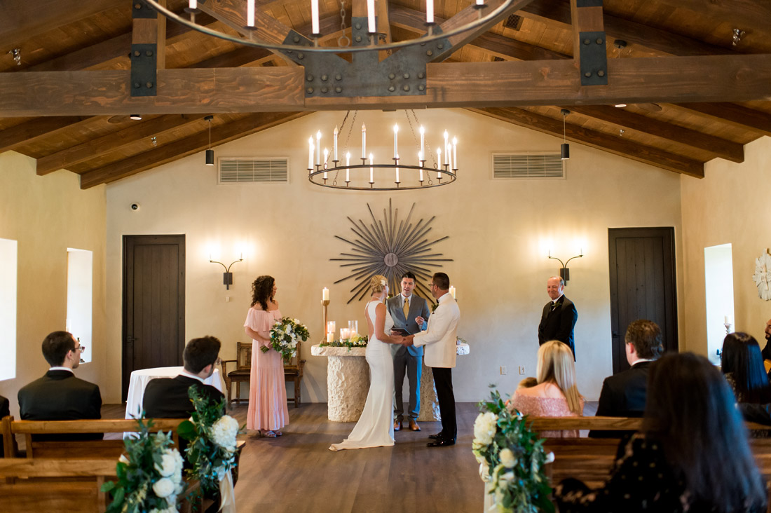 mission style church at castle hot springs