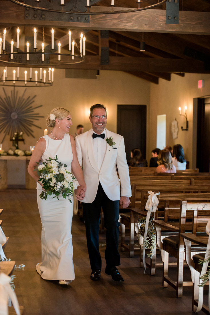 castle Hot Spring wedding couple ceremony