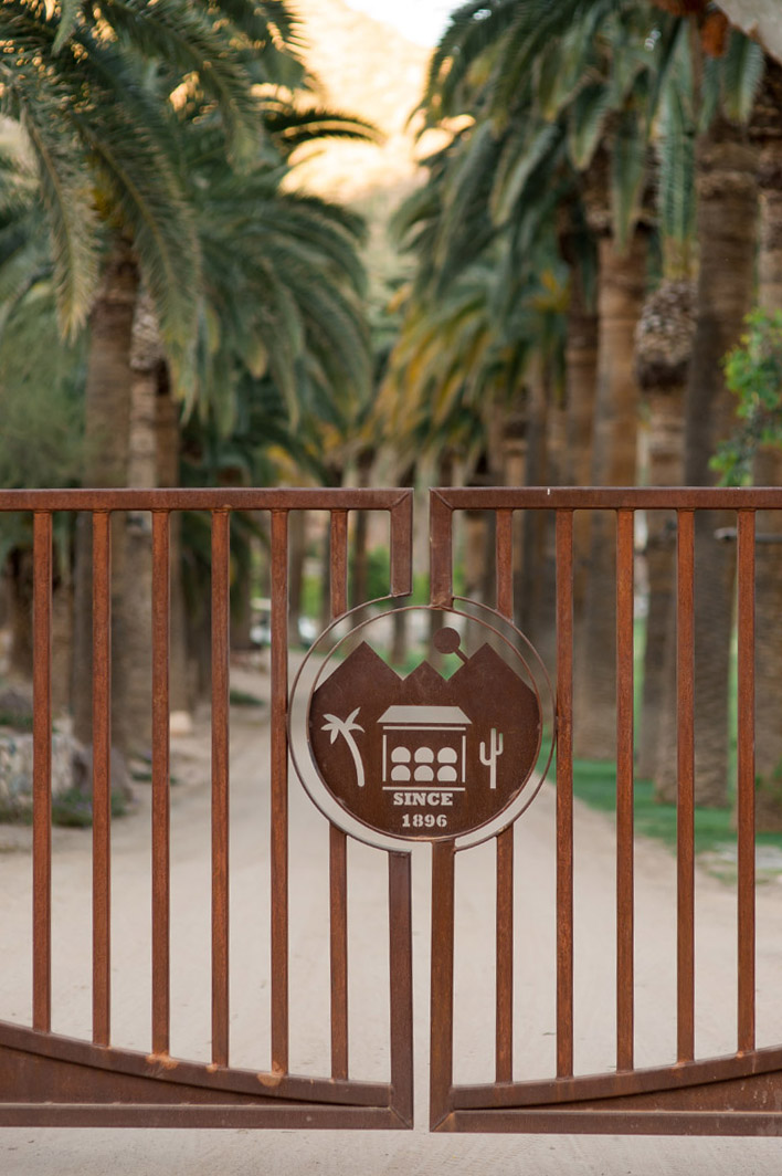 Castle Hot Springs Gate