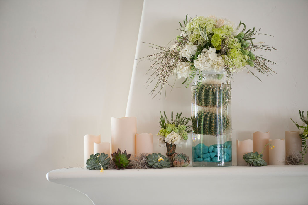 cactus and succulent floral ideas