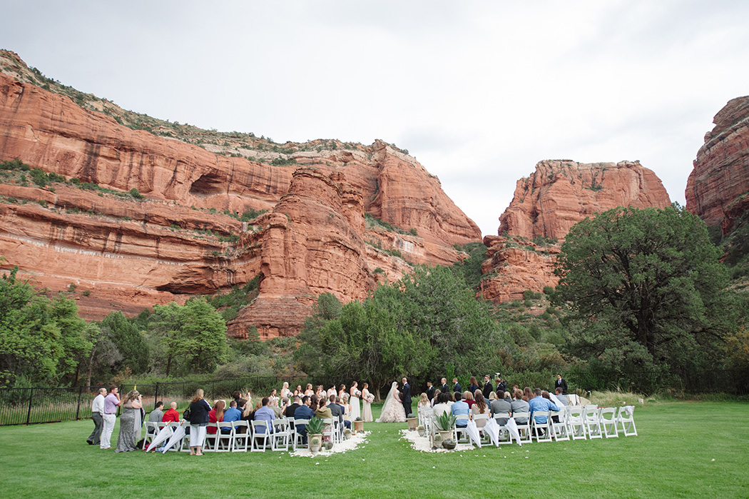 Enchantment Resort Wedding in the Red Rocks