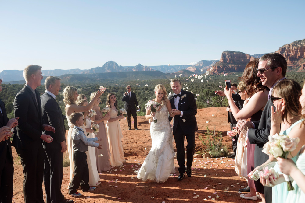 Black Tie Bell Rock Wedding in Sedona