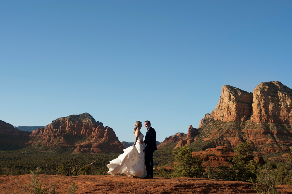 Enchantment Resort Wedding in Sedona's Red Rocks