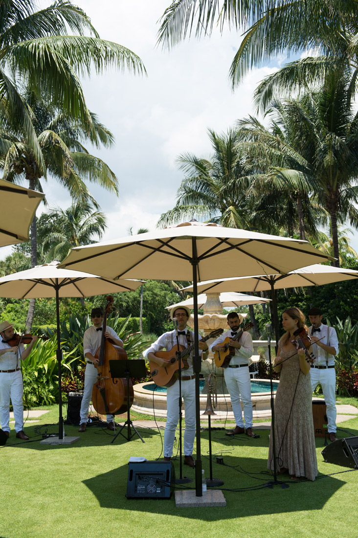 The Breakers Weddings Outdoor Band