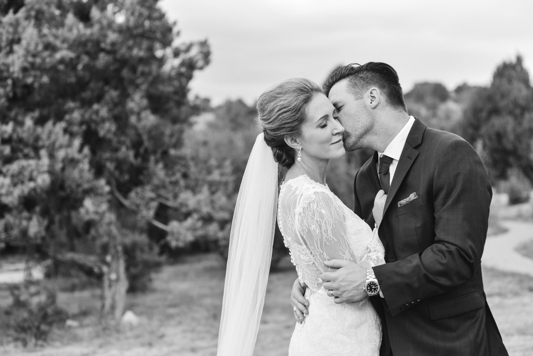 Four Seasons Santa Fe Wedding couple