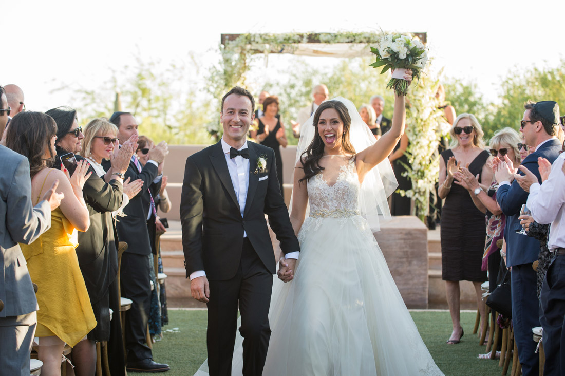 Just married at the Four Seasons Scottsdale