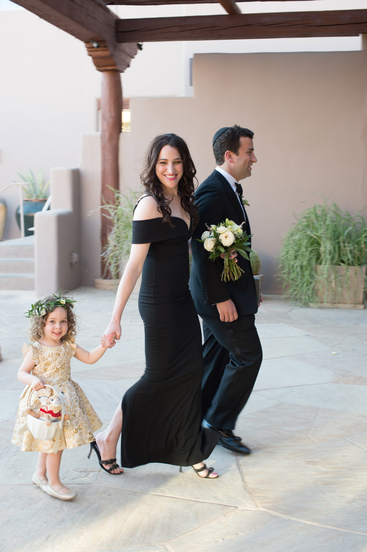 Flower girl and recessional