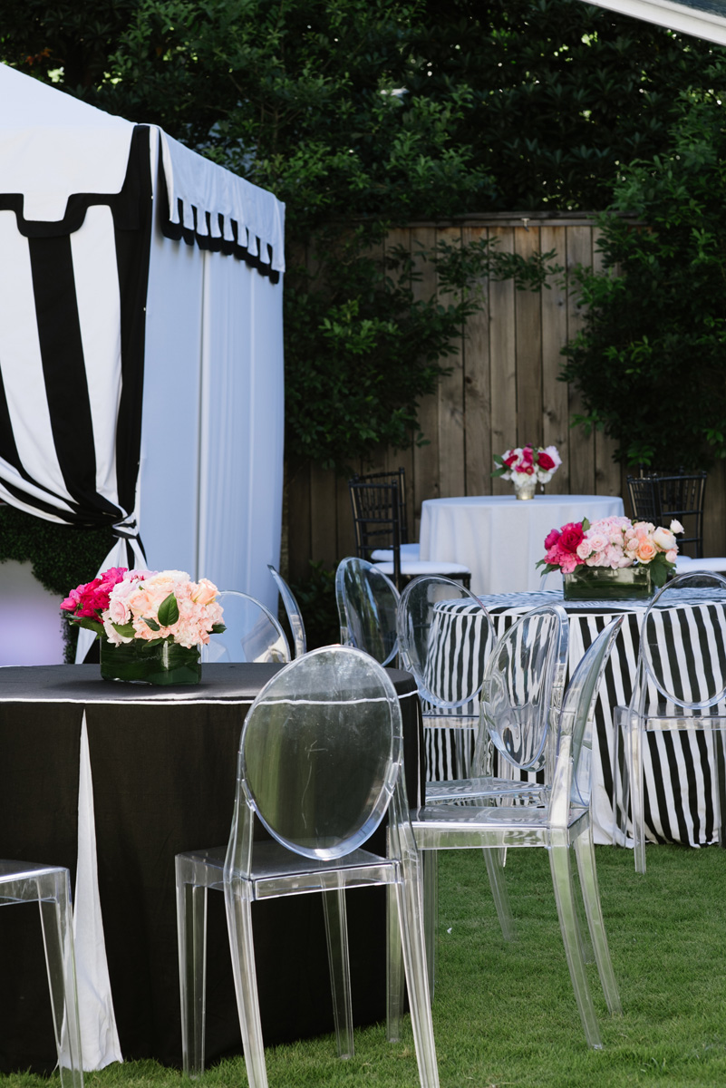 10th Anniversary Black and White Party in the Garden