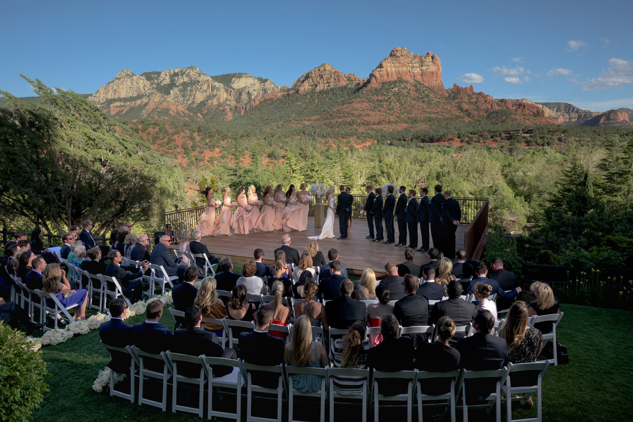 Sedona Wedding Venues.Lauberge De Sedona Weddings Cameron Clark Photography
