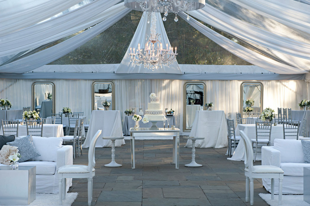Charleston Wedding with tented reception at Lowndes