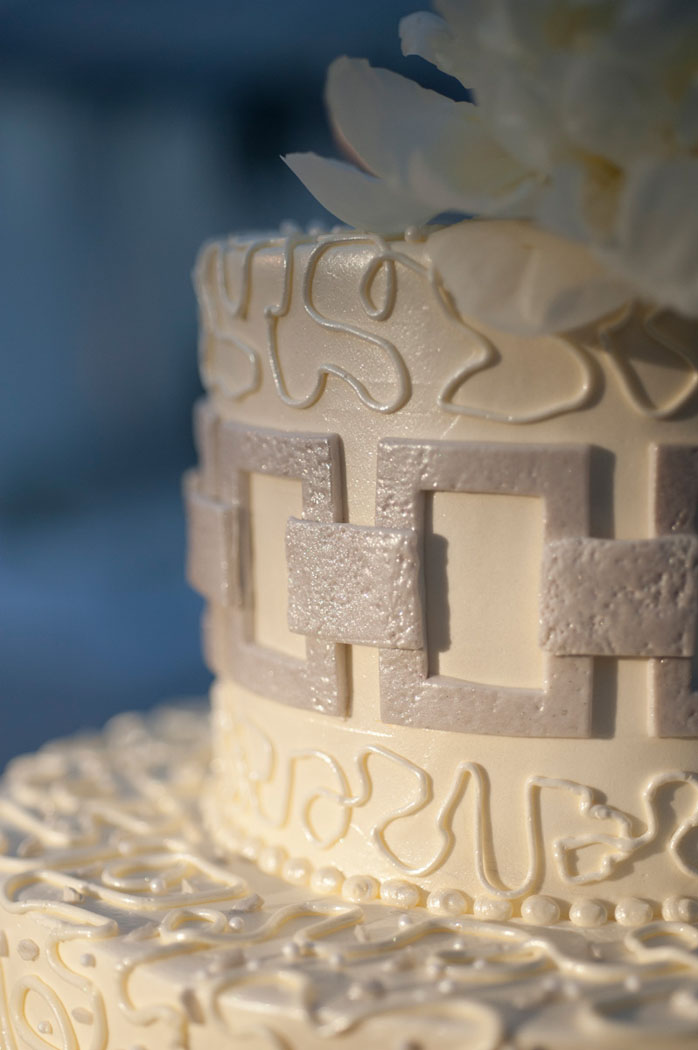 Wedding Cake by Jim Smeal with custom detail