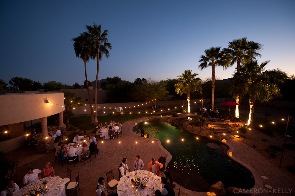 private residence wedding in paradise valley