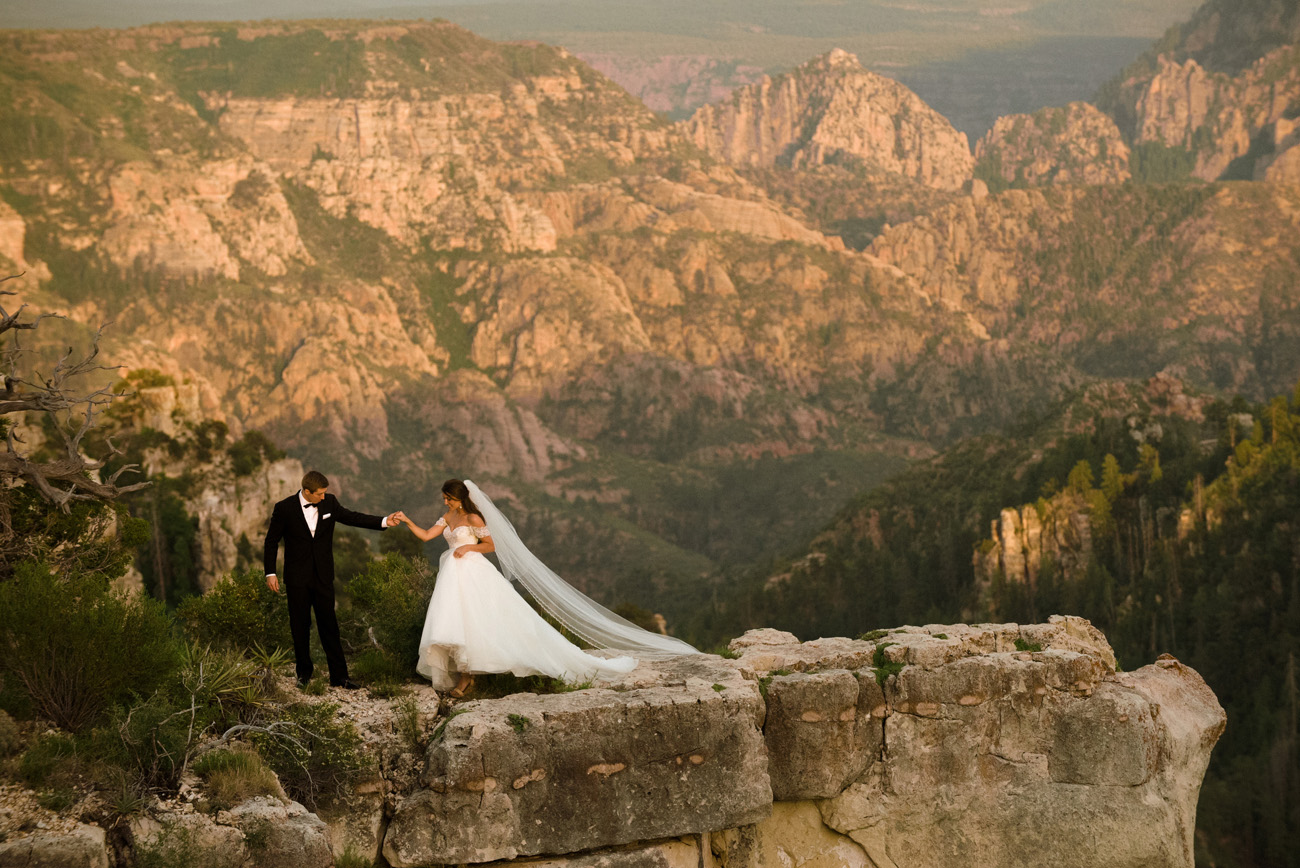 Sedona Red Rocks Wedding at Seven Canyons