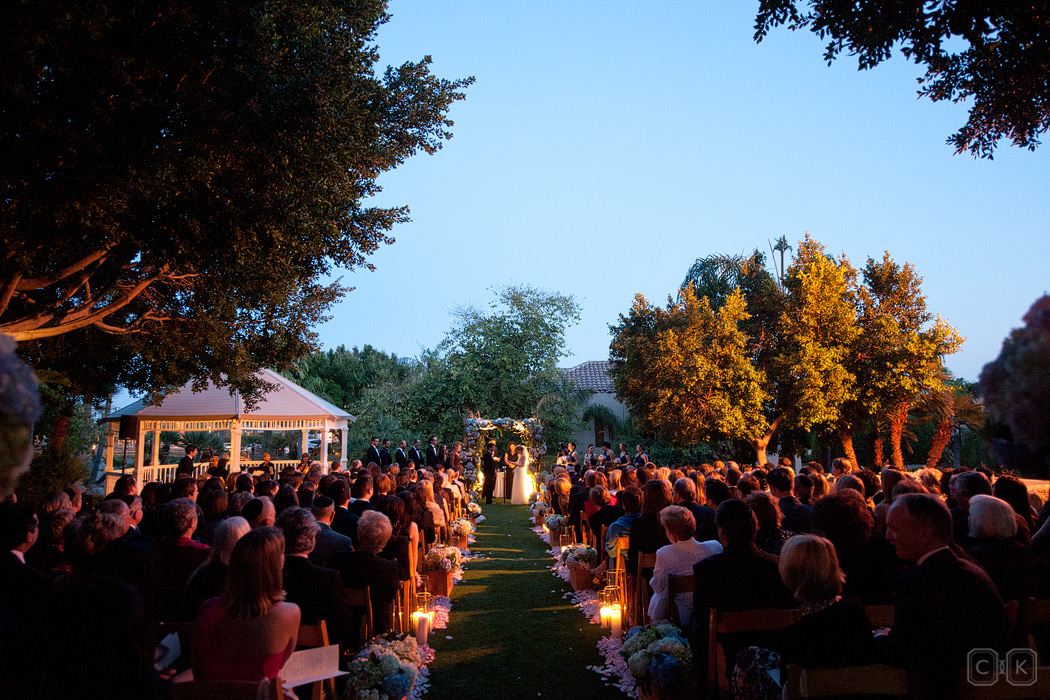 Phoenician jewish dusk wedding
