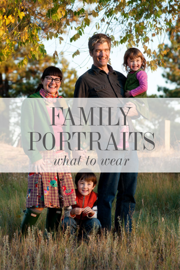 STOP Stressing About Your Family Portraits. Here's how:
