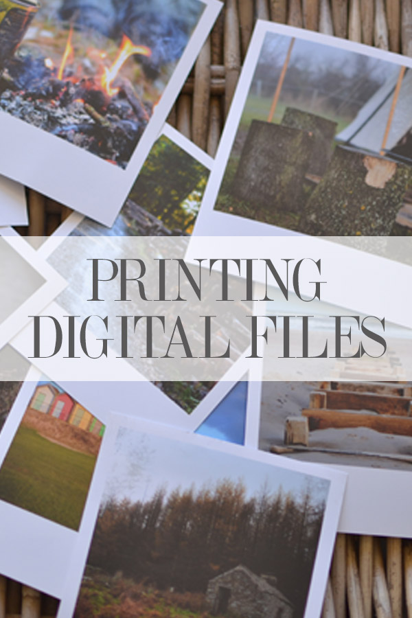 How to Print Your Digital Files-- Hint: don't go to the drugstore