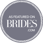 Erin & Joe's Real Wedding featured on Brides.com