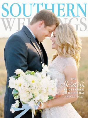 Jamie & Blake's Real Wedding in Southern Weddings Magazine